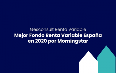 Gesconsult Renta Variable: Mejor Fondo Renta Variable España por Morningstar